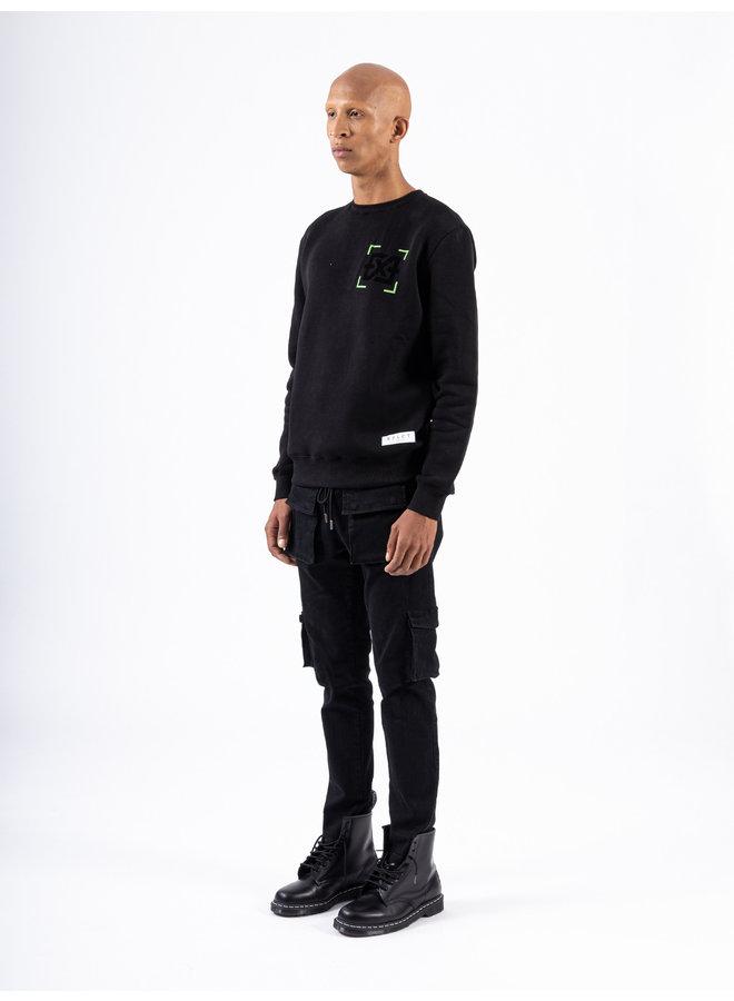 XPLCT Studios - Error Sweater Black