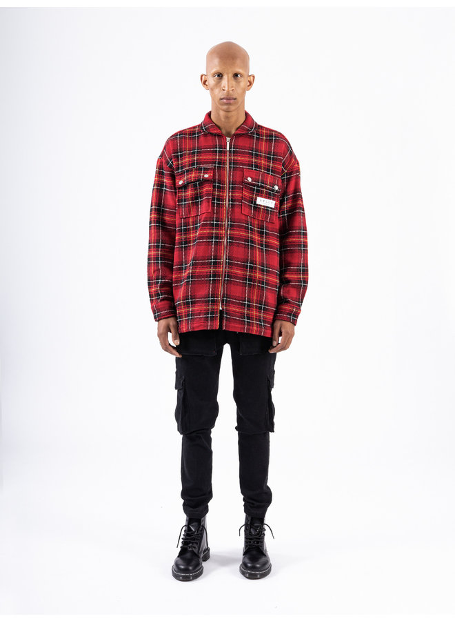 XPLCT Studios - Flanel Shirt Red