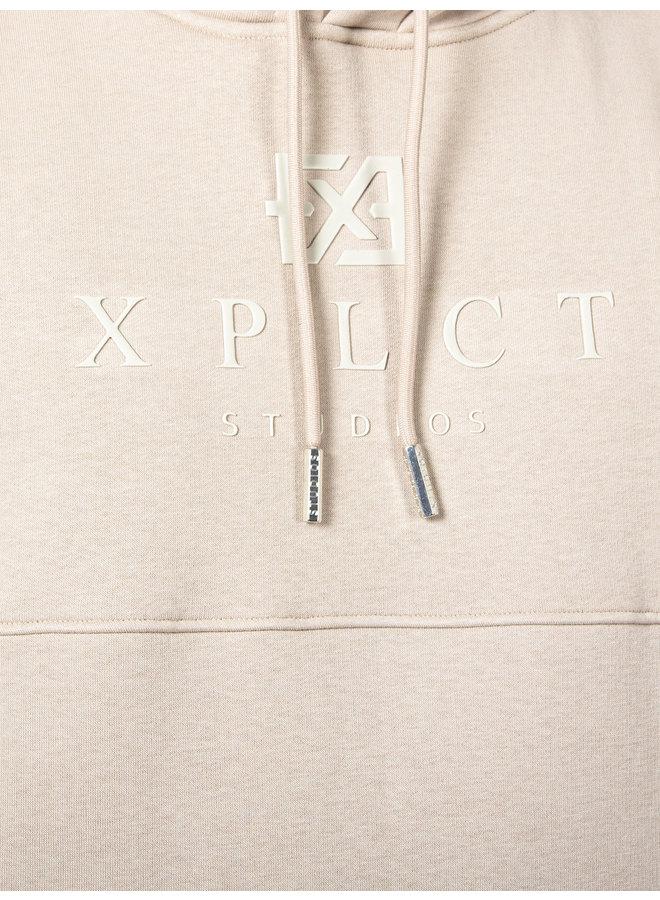 XPLCT Studios - Brand Hoodie Beige