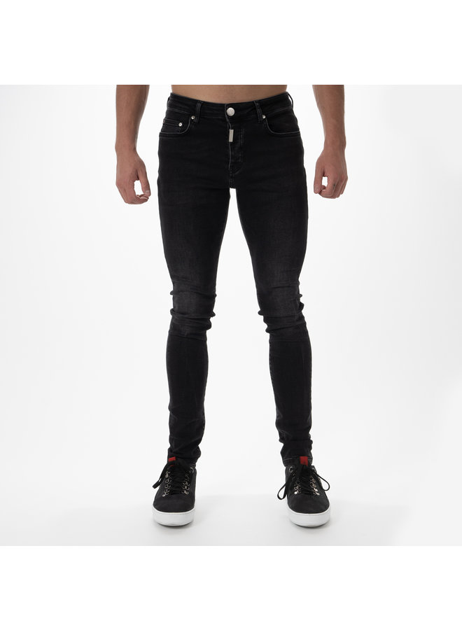 AB Lifestyle - Basic Stretch Jeans Black