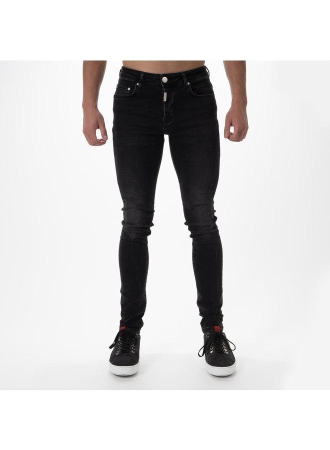 AB Lifestyle - Basic Stretch Jeans Zwart