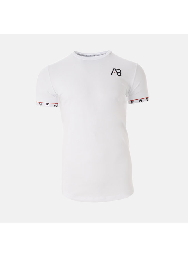 AB Lifestyle - Flag Tee White