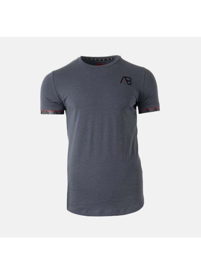 AB Lifestyle - Flag Tee Grey