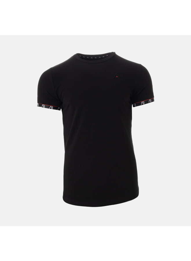 AB Lifestyle - Flag Tee Black