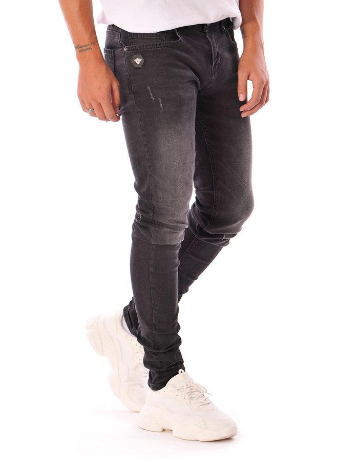 Black Bananas - Don Clean Jeans Zwart