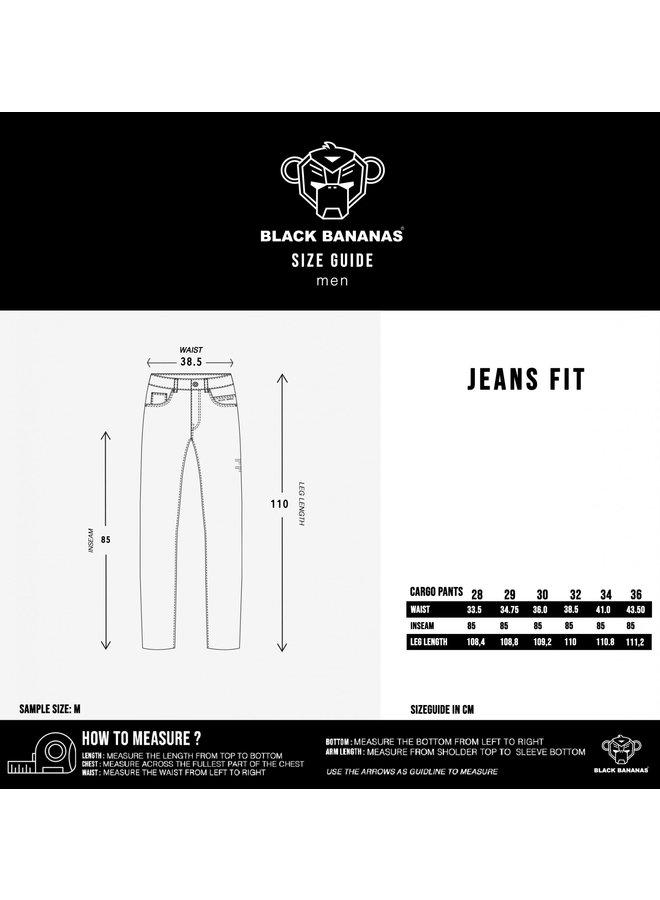 Black Bananas - Don Clean Jeans Black