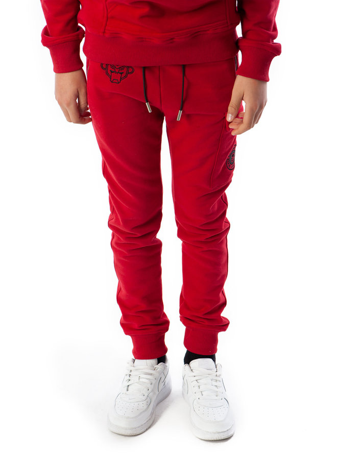 Black Bananas Kids - JR Fleece Jogger Red