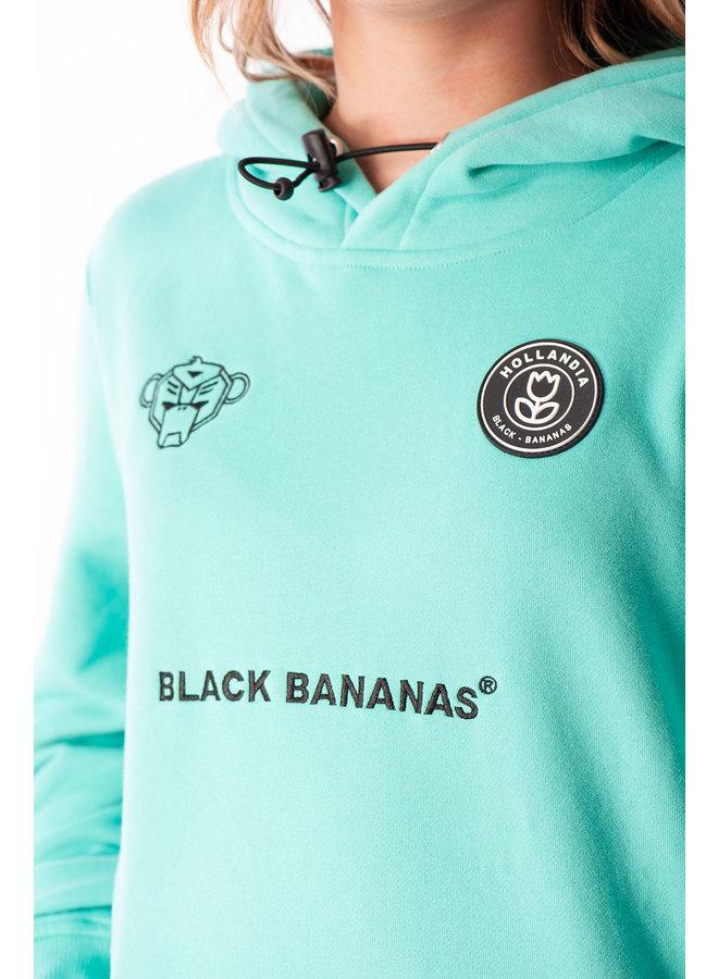 Black Bananas - JR F.C Hoody Fleece Aqua