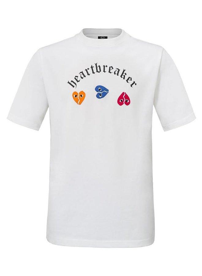 Rivero - Heartbreaker T-Shirt White Colors