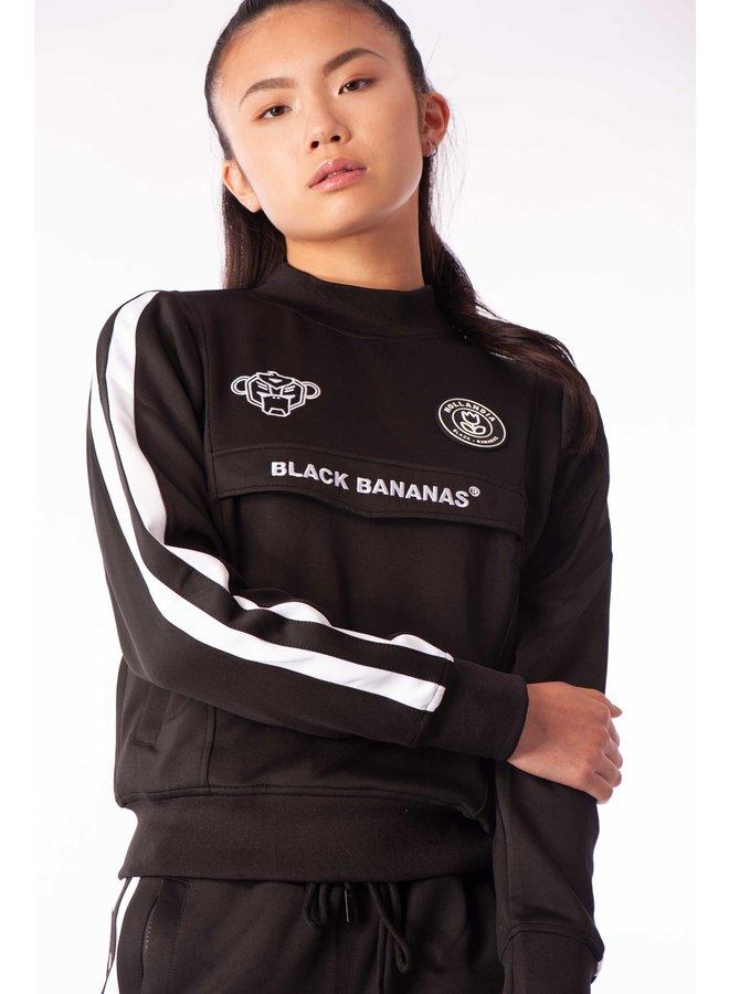 Black Bananas Women - Miami Tracksuit Black White