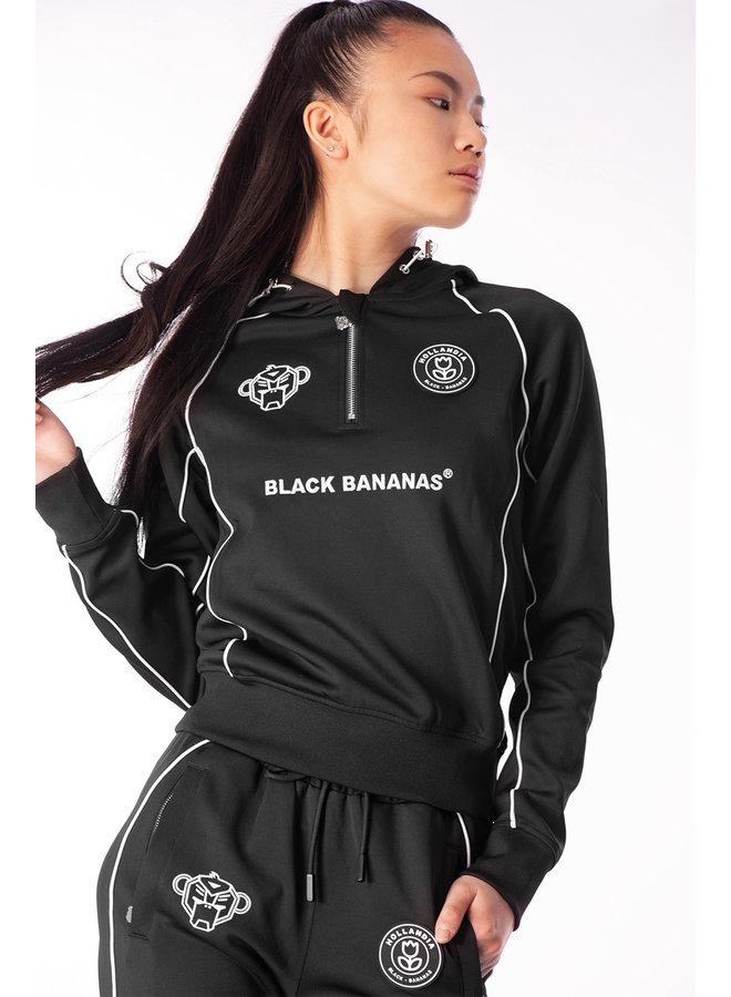 Black Bananas Women - F.C. Piping Tracksuit Black