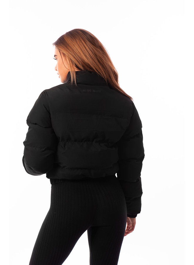 Black Bananas Women - Cropped Bubble Coat Black