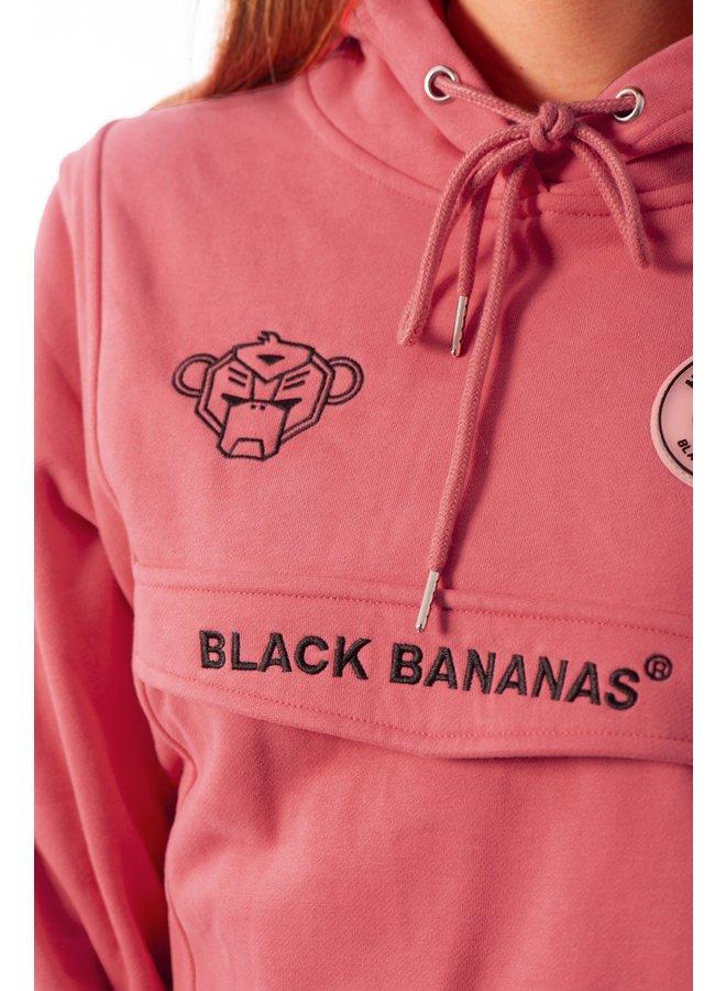Black Bananas Women - Anorak Hoody Pink