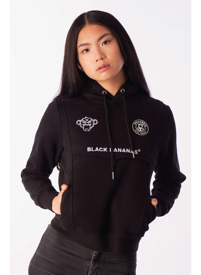 Black Bananas Women - Anorak Hoody Black