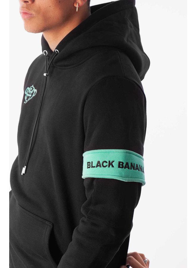 Black Bananas - Captain Hoodie Black Mint