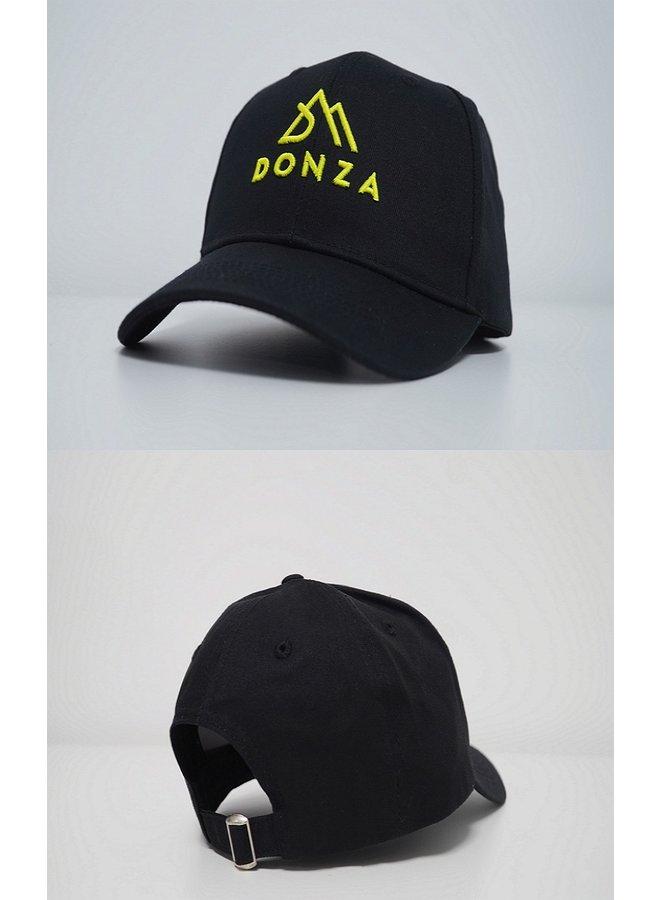 Donza - Cap Black Neon Yellow