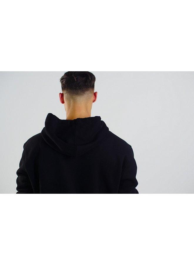 Donza - Black Hoodie Loose Fit