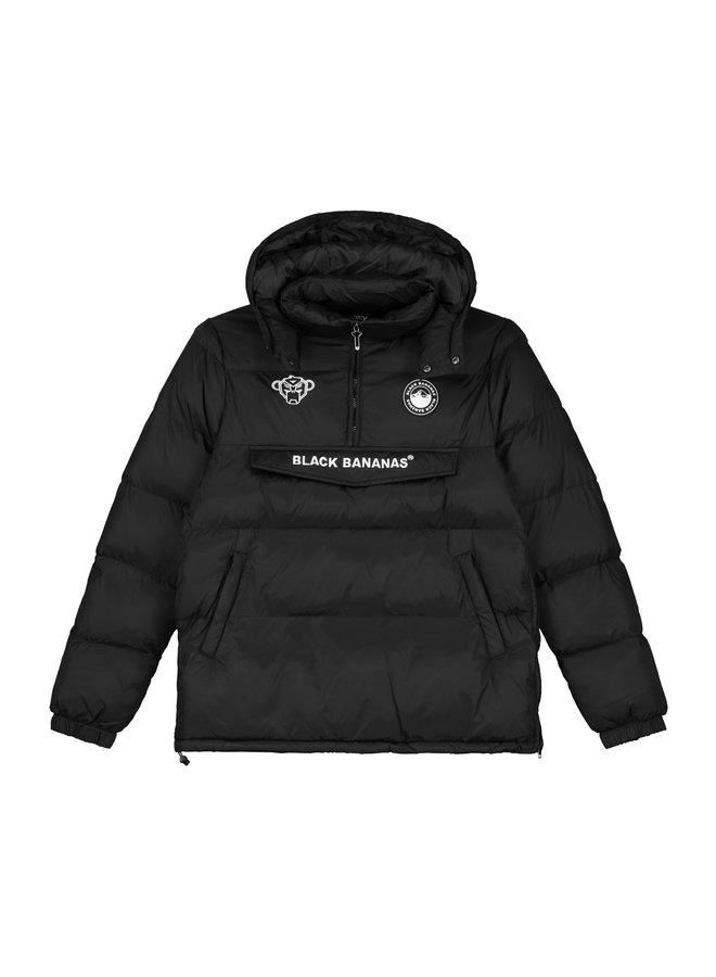 Black Bananas - Anorak Block Jacket Black