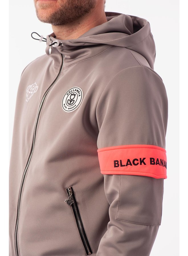 Black Bananas - Captain Tracksuit Grey Pink