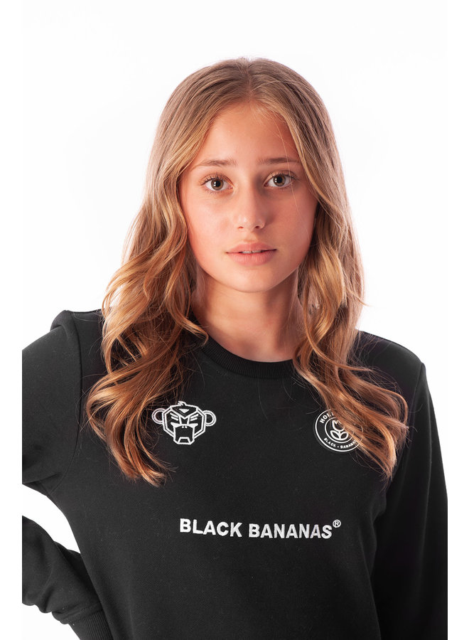 Black Bananas Kids - JR F.c. Crewneck Black