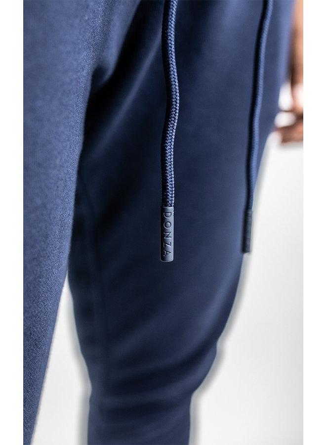 Donza - Jogging Suit Navy Blue Aqua Blue