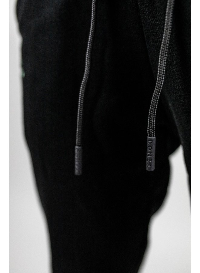 Donza - Jogging Suit Black White