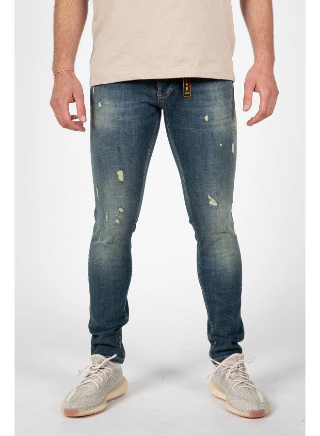 Leyon -  Destroyed Orange Jeans 2046