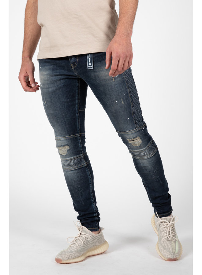Leyon - Blue Jeans Spotted 2043-1
