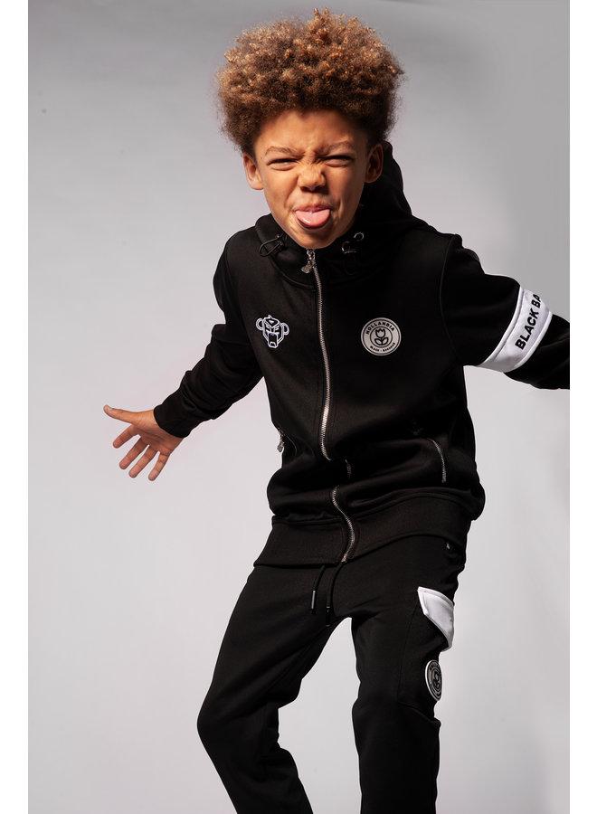 Black Bananas Kids - JR. Captain Tracksuit Black