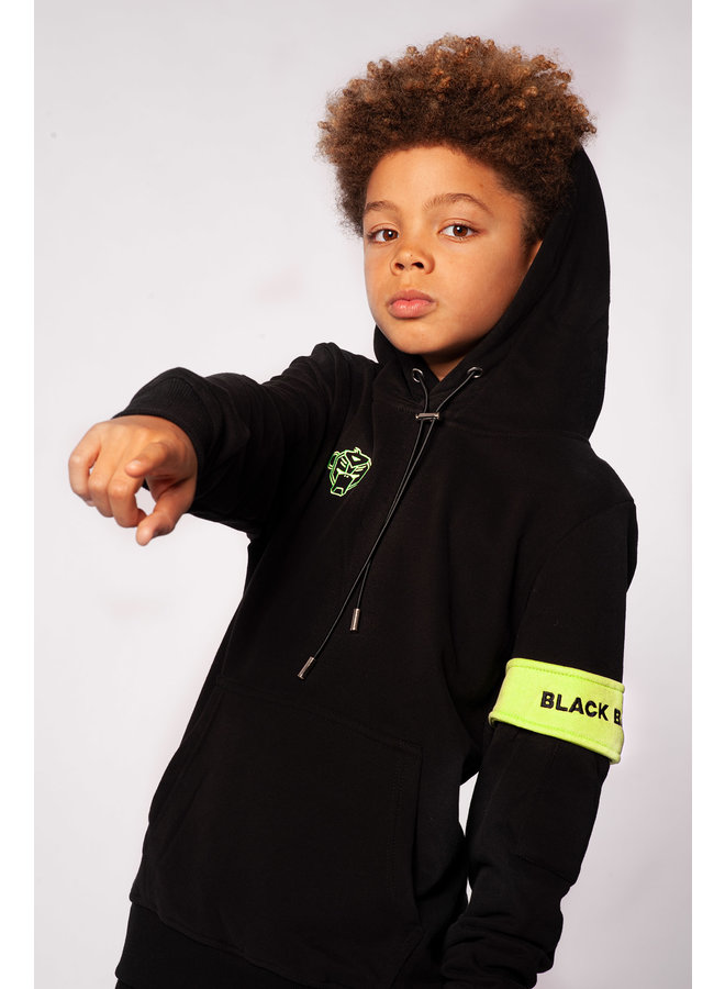 Black Bananas Kids - JR. Captain Hoody Black