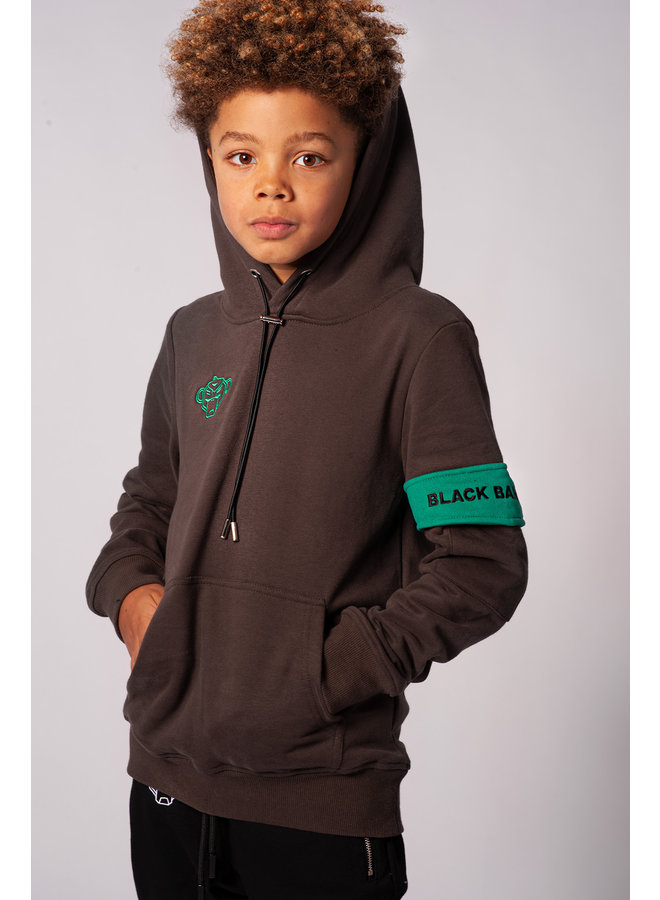 Black Bananas Kids - JR. Captain Hoody Grey