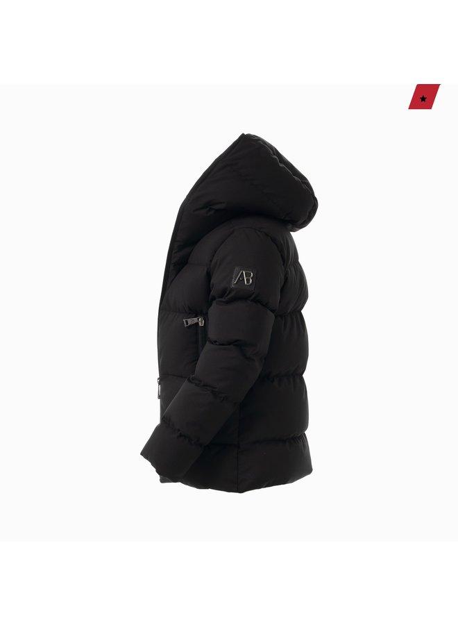 AB Lifestyle Kids - Hooded Down Jacket Black
