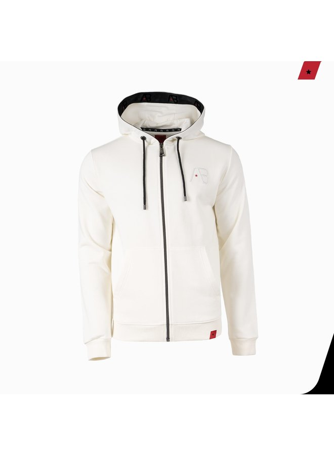 AB Lifestyle - Taped Hooded Vest White