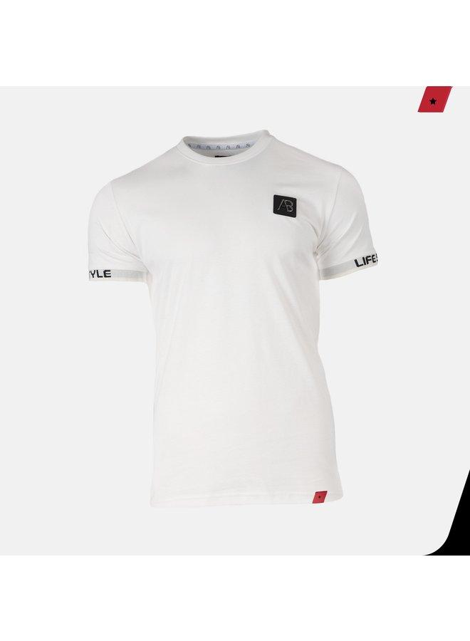 AB Lifestyle - Luigi Tee Off White
