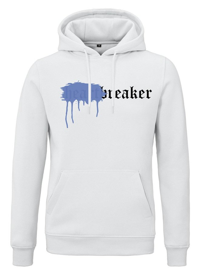 Rivero - Heartbreaker Hoodie White Sprayed Blue
