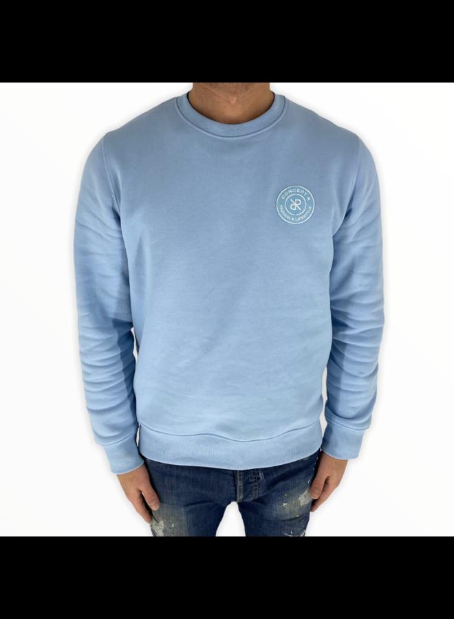 Concept R - Basic Sweater Light Blue