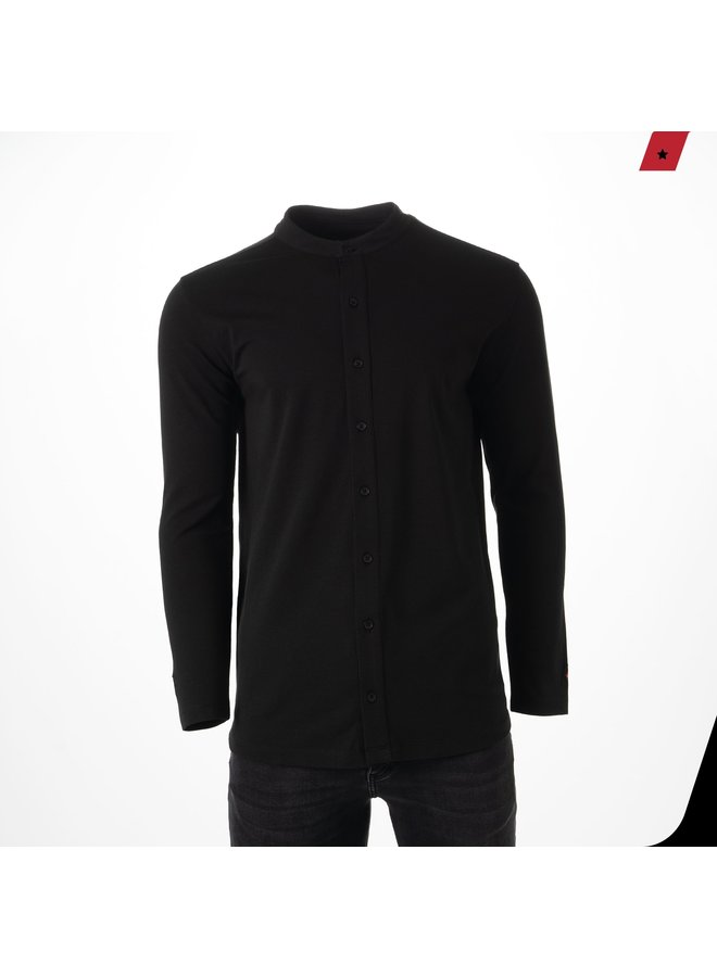 AB Lifestyle - Button Up Black
