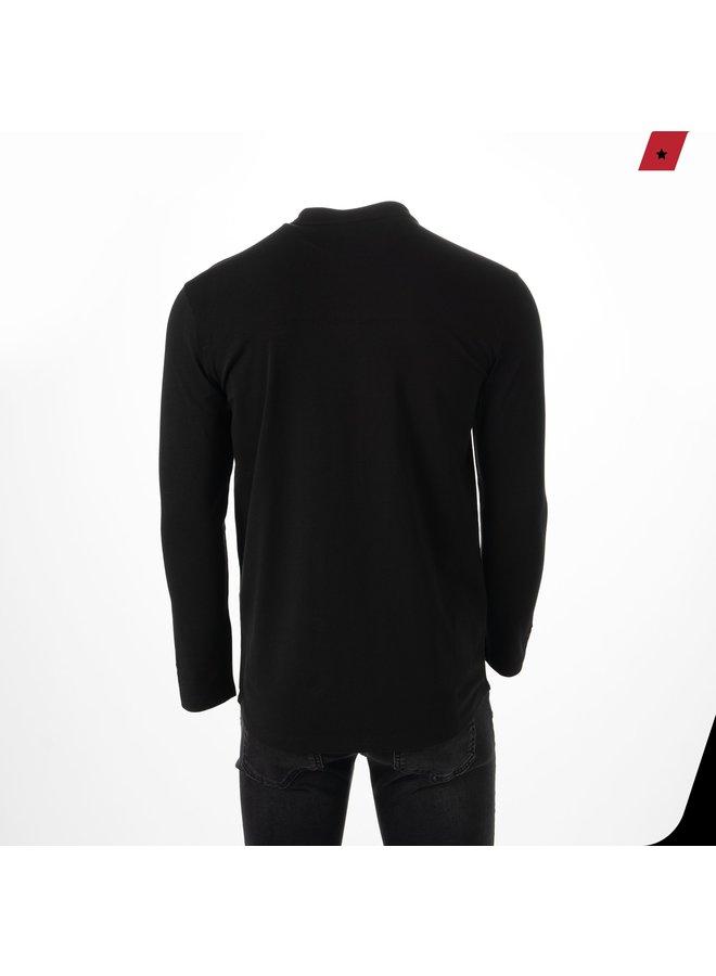 AB Lifestyle - Button Up Black