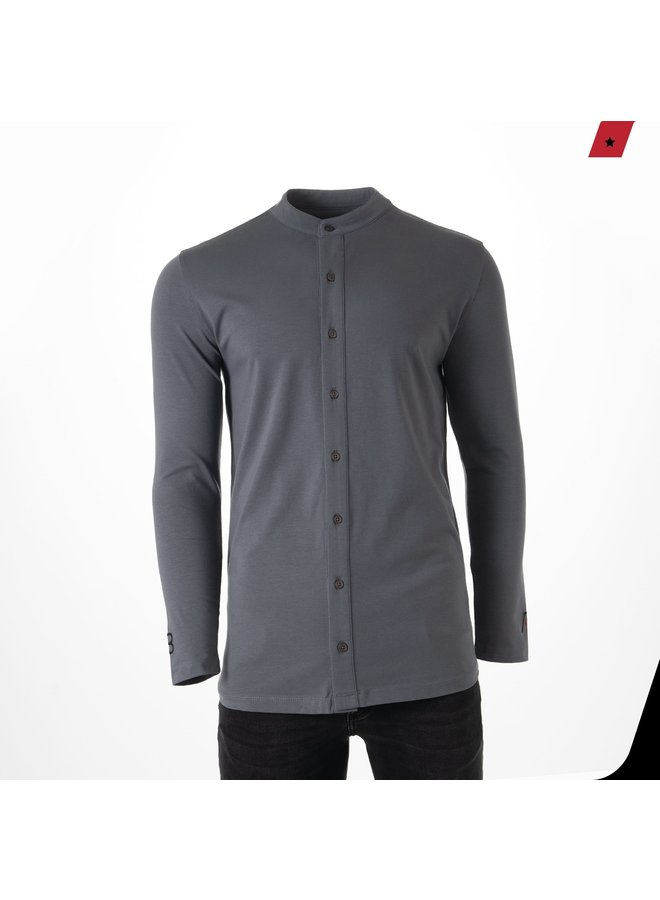 AB Lifestyle - Button Up Grey