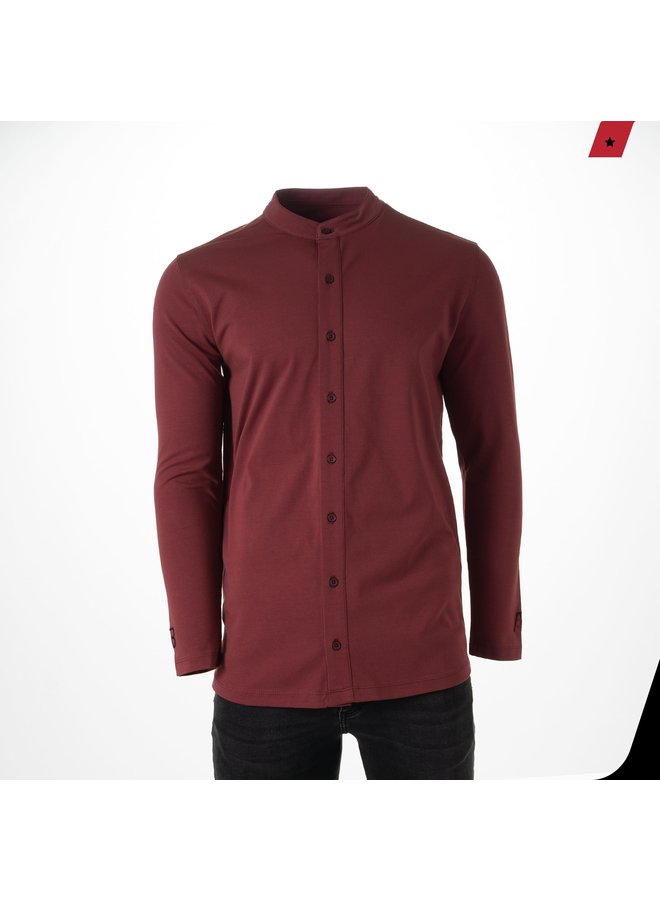 AB Lifestyle - Button Up Cranberry