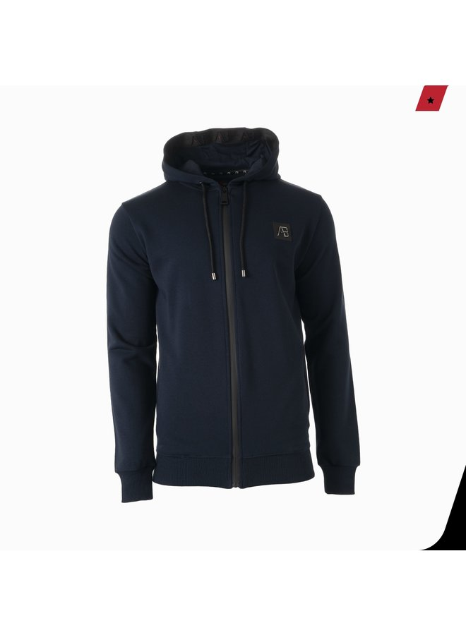 AB Lifestyle - Exclusive Hooded Track Jacket Navy