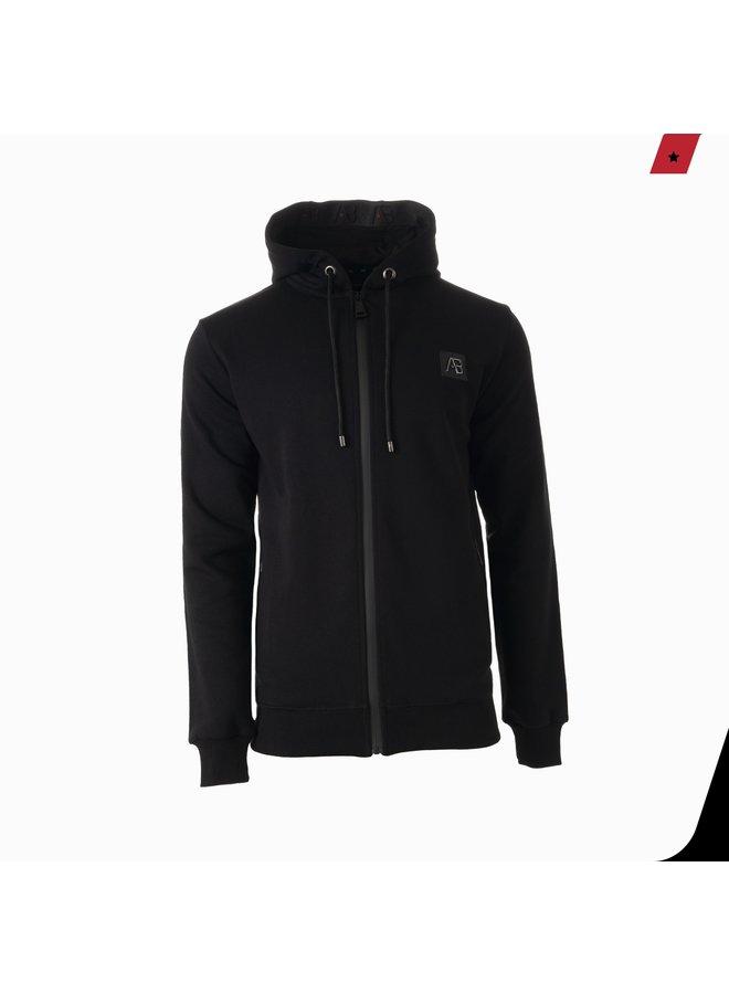 AB Lifestyle - Exclusive Hooded Track Jacket Black