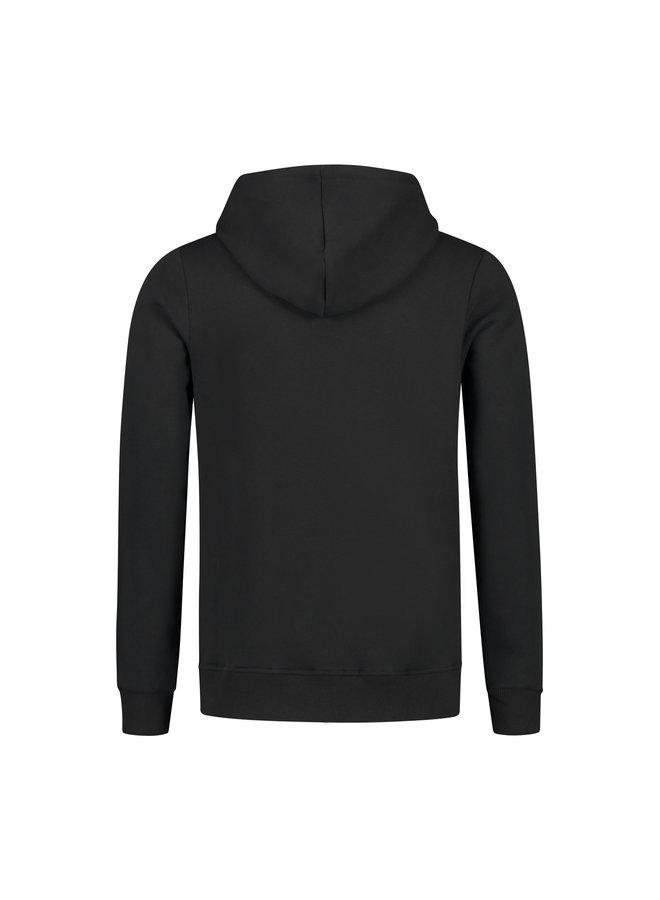 Confirm - Brand Hoodie Vest Black