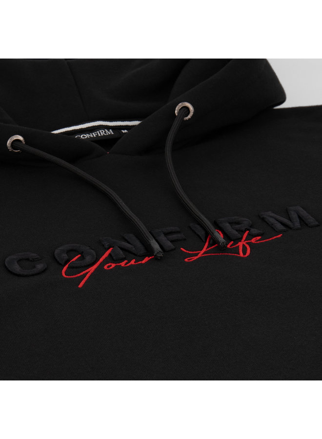 Confirm - Your Life Hoodie Black