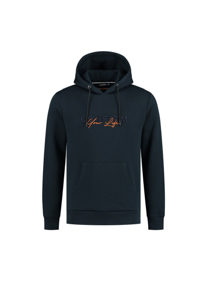 Confirm - Your Life Hoodie Navy