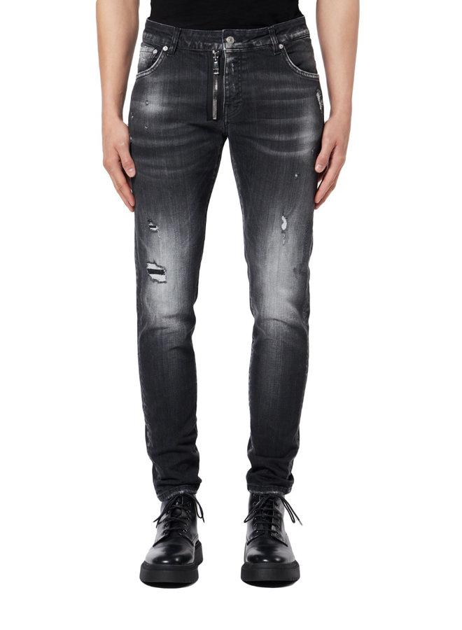 My Brand - Black Denim Zipper Jeans