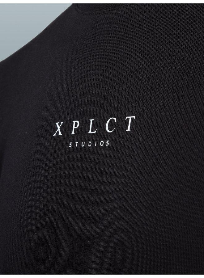 XPLCT Studios - Weekday Tee Black + White