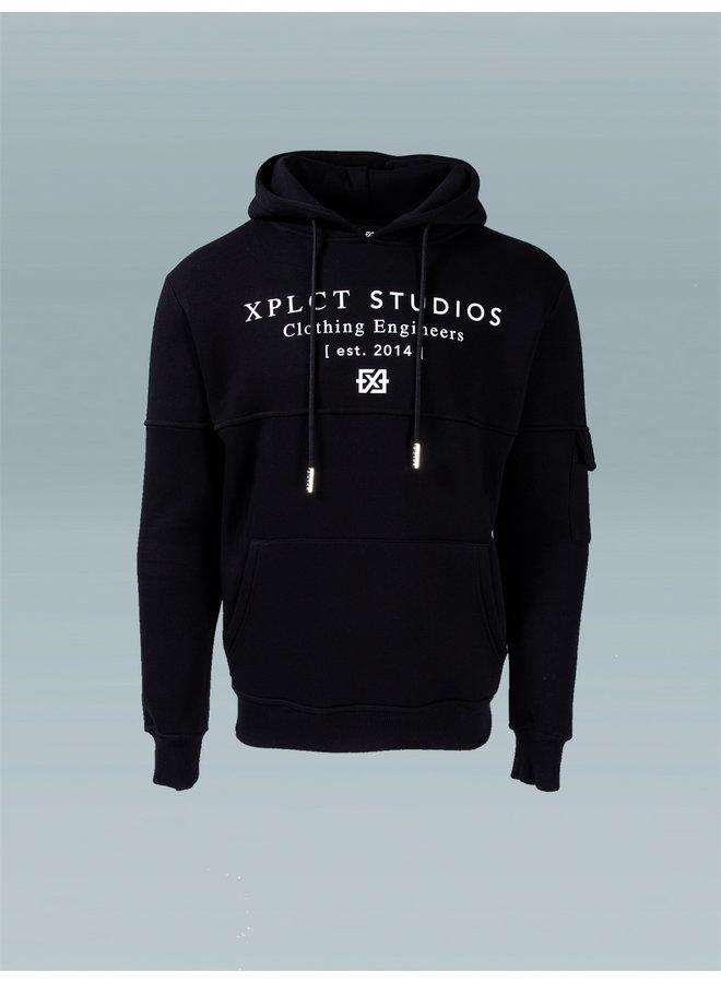 XPLCT Studios - Studio Hoodie 2.0 Black