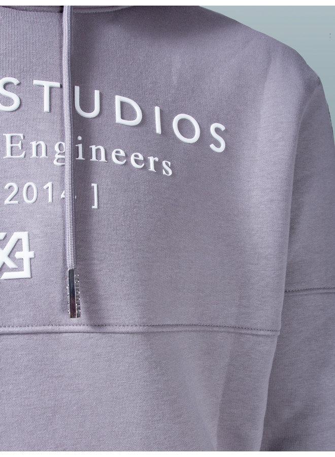 XPLCT Studios- Studio Hoodie 2.0 Grey