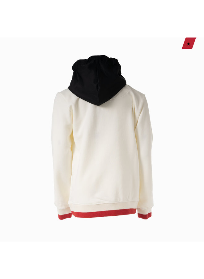 AB Lifestyle Kids - Flag Hoodie Off White